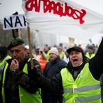 """Gaskó a szakszervezeti tüntetésen: """"remélem nem vernek meg"""""""