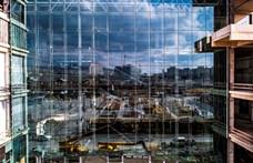 Elkészült Magyarország legnagyobb egybefüggő homlokzati üvegfala