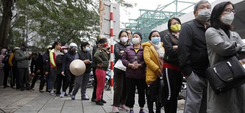 Három újabb fertőzött miatt evakuálnak egy 80 ezres vietnámi nagyvárost