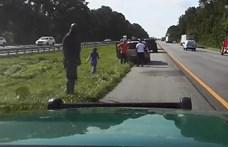 Shaquille O'Neal volt az első, aki megállt segíteni egy autóbalesetnél