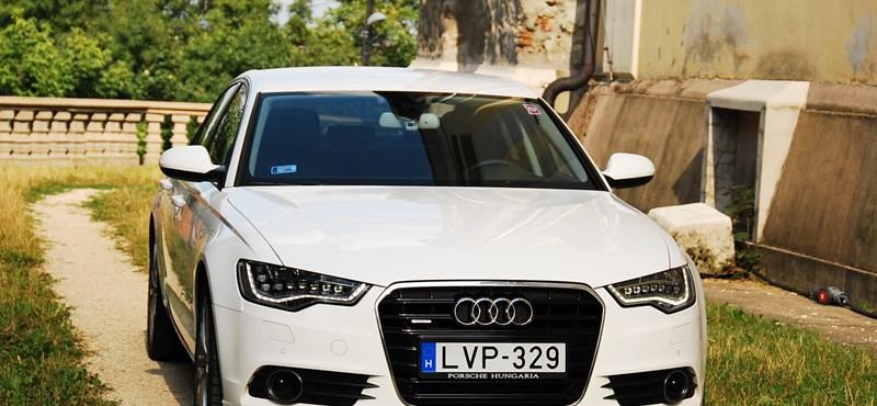 Audi A6 teszt: őexcellenciája