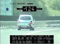 80 helyett 130 km/h-val: utánfutóval is vannak traffipaxrekorderek