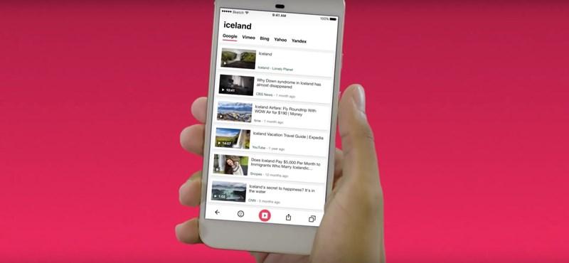 Jött egy teljesen új böngésző: töltse le a mobiljára, sokkal kényelmesebben lehet vele netezni