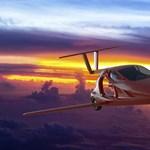 Itt a legújabb repülő autó, aminek még egy hatalmas ejtőernyője is van