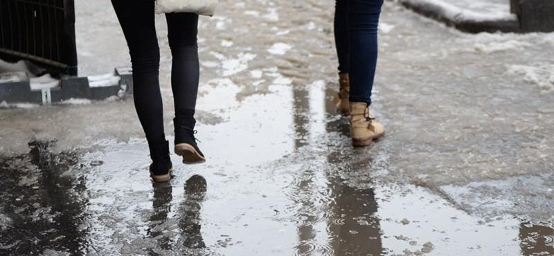 Tartós, sűrű ködre, hószállingózásra, ónos esőre lehet számítani kedden