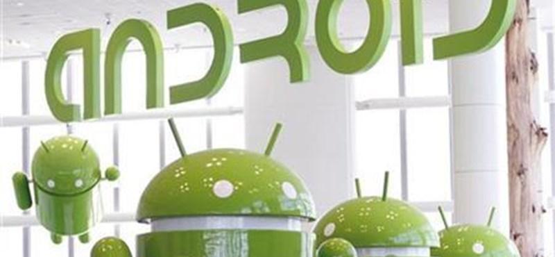 Itt az új Android