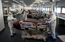 Olaszországban ma 4805 új fertőzés és 681 haláleset volt a koronavírus miatt