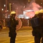 Könnygázt, gumilövedéket vetettek be a korlátozások ellen tüntetőkkel szemben Sankt Gallenben