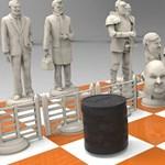 Elkészült a sakk-készlet, amiben Soros a sötét, Orbán a világos király
