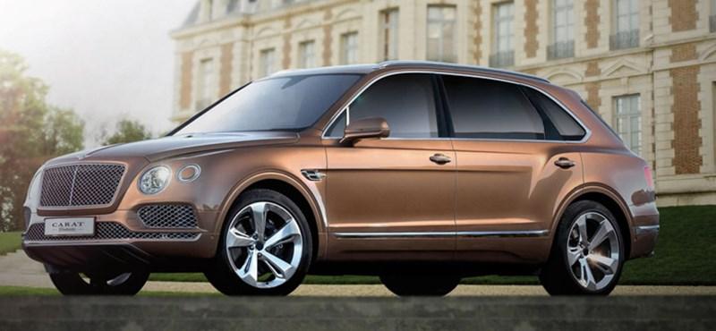 Van olyan cég, ami még a Bentley Bentaygából is nagyobbat csinál