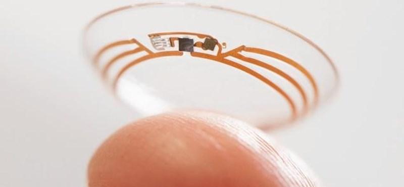 Kiderült, ki lesz a tökéletes partner a Google okos kontaktlencséjéhez