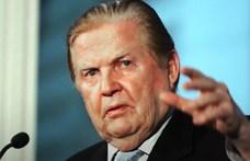 """Meghalt Robert Mundell, az euró elméleti """"atyja"""""""