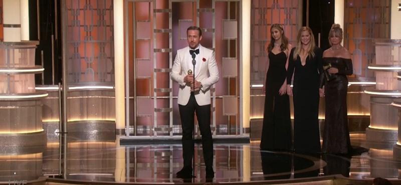 Esélyt sem adott másnak a Kaliforniai álom a Golden Globe-on