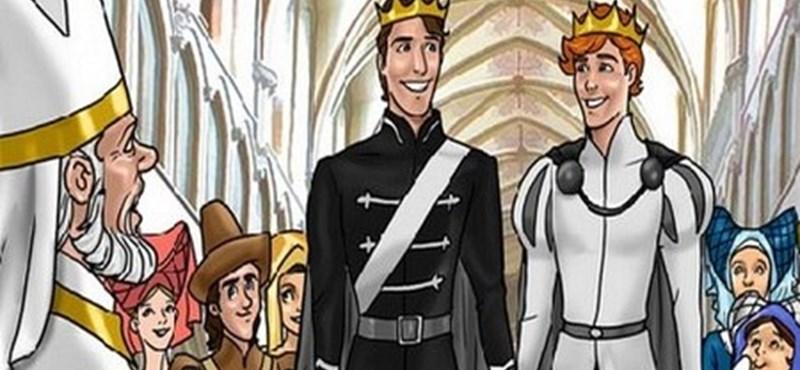 Beleszerethet-e a mesében két királyfi egymásba?