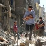 A szíriai kormányerők Idlíb és Aleppó tartományokban nyomulnak