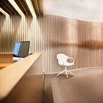 Luxus magánklinika hullámzó dizájnnal