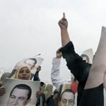 Csóró gyerek volt Mubarak, és a felesége is többször el akarta hagyni