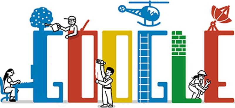 Így ünnepli a munkát a Google