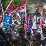 Trump nagy nehezen csak elítélte a fehér fajgyűlölőket