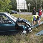 Autók ütköztek Baktalórántházánál – nyolc sérült