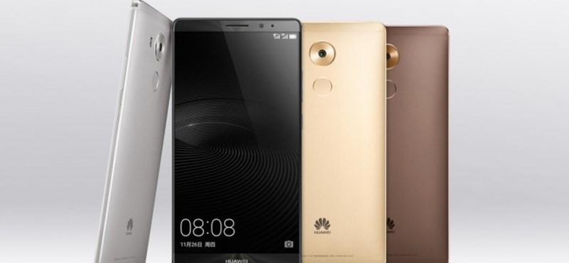 Erős aksi, gyors processzor és nagy képernyő a Huawei új telefonjában
