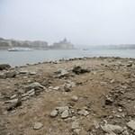 """""""Nincs víz! A helyzet válságos"""" - aggasztó a Duna vízszintje"""