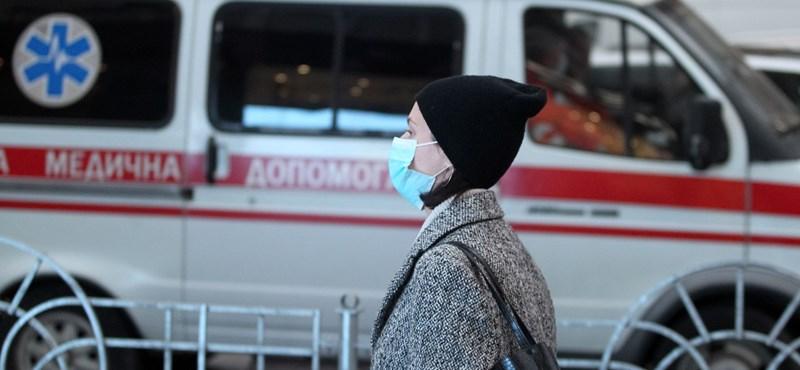 Ukrajnában belengették a hétvégi boltzárat a járvány terjedése miatt