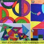 Absztrakt festmény vagy gyerekrajz? Zseniális tesztet mutatunk