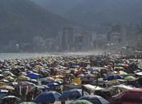 Milyen járvány? Tele volt a Copacabana a hétvégén