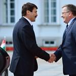 Budapesten lesz ma a lengyel államfő