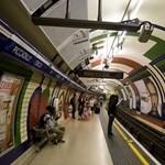 Térkép a londoni metró legforróbb pontjairól