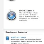 Az Apple kiadta az OS X Mountain Lion és a Safari 5.2 harmadik előzetesét