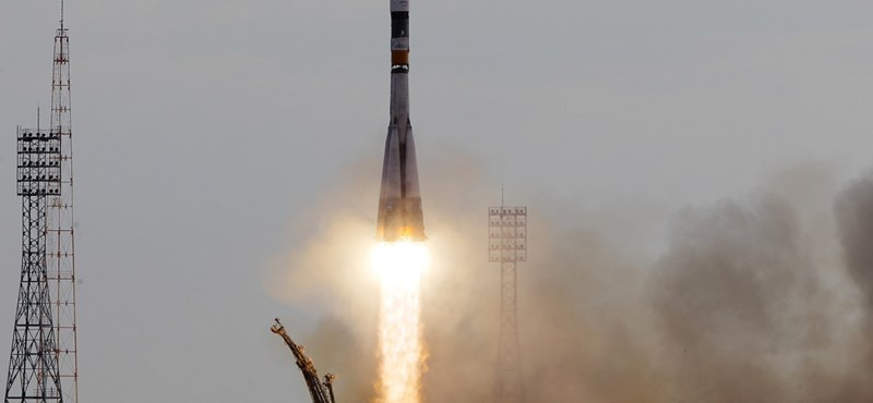 A Szojuz űrhajó csatlakozott a Nemzetközi Űrállomáshoz