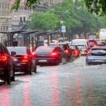 Törvényszerű, hogy felhőszakadás után elúszik a főváros?