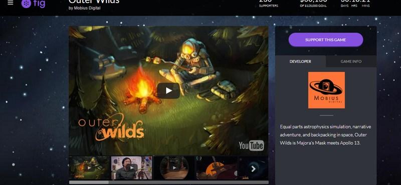 Gamerek, fejlesztők, befektetők figyelem: itt a játékok Kickstartere