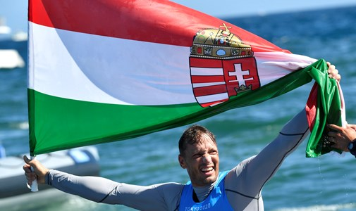 Zsombor Berecz in silver medal sailing, Hungarians were in the king class in men's kayak - minute by minute around the Tokyo Olympics