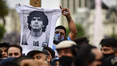 A Buenos Aires-i elnöki palotában ravatalozták fel Maradonát