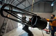 Új távcső épül a magyar asztrofotósoknak