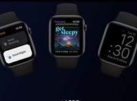 Sok izgalmas funkcióval érkezett meg a watchOS 7