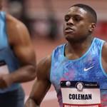 Christian Coleman nyerte a 100 méteres síkfutást az atlétikai vb-n