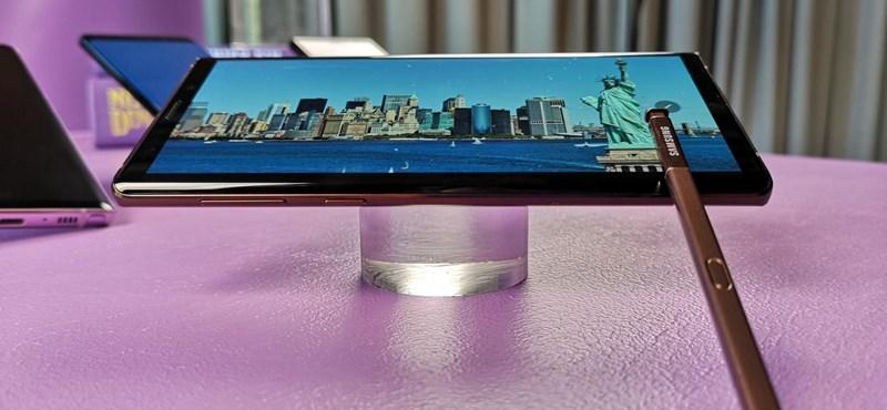 Összegyúrta eddigi legerősebb telefonját a Samsung, megjött a Note9