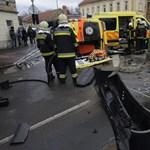 Óriási nagyot csattant két mentőautó Szegeden