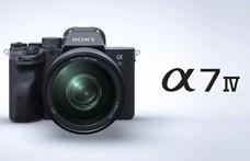 Csúcsra törve: itt a Sony új fényképezőgépe, az Alpha 7 IV