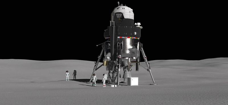 Ez az űrhajó ingázhat majd négy emberrel a Hold és az űrállomás között