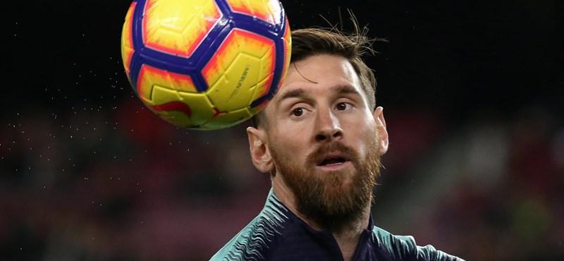 Leo Messi megsérült