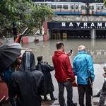 Isztambulban megvalósult a vízimetró és a föld alatti vízesés – videó, fotó