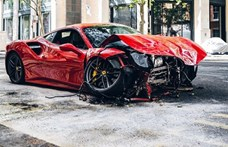 London közepén törte össze bérelt Ferrariját egy rapper