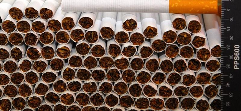 Húszszázalékos is lehet a cigiáremelés