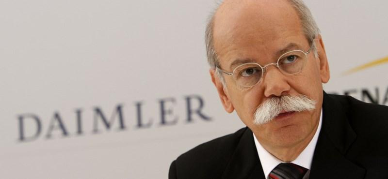 Nagyon visszaesett a Daimler nyeresége