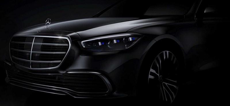 Mintha a levegőbe rajzolna az új Mercedes S-osztály navigációja – videó
